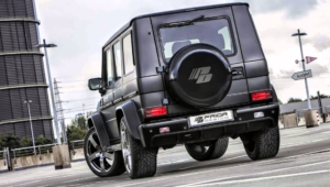 Mercedes Benz Gelandewagen Tuning Photos