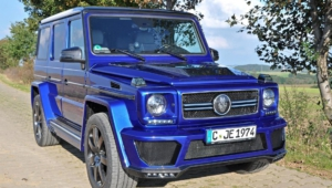 Mercedes Benz Gelandewagen Tuning Wallpaper