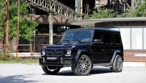 Mercedes Benz Gelandewagen Tuning Widescreen