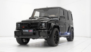 Mercedes Benz Gelandewagen Tuning For Desktop Background