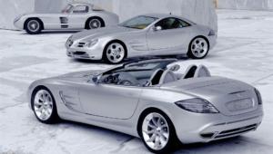 Mercedes Benz SLR McLaren Background