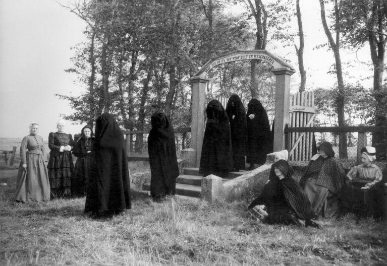 The funeral of the farmer, Netherlands, 1949.