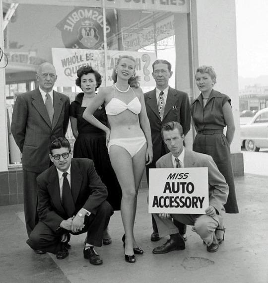 Miss Auto Accessory, USA, 1960.