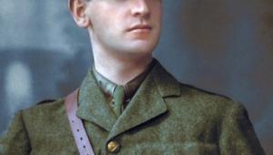 Irish revolutionary Michael Collins, 1910.