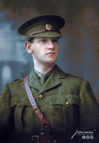 Irish revolutionary Michael Collins, 1910.