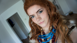 Aloy Horizon Zero Dawn Cosplay Computer Wallpaper