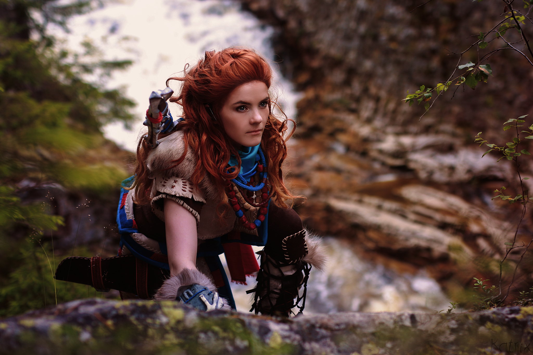 Aloy Horizon Zero Dawn Cosplay Wallpapers Images Photos Pictures