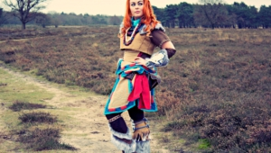 Aloy Horizon Zero Dawn Cosplay Wallpaper