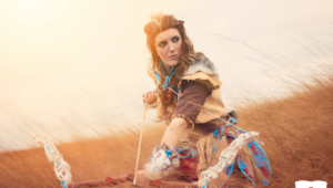 Aloy Horizon Zero Dawn Cosplay Wallpapers