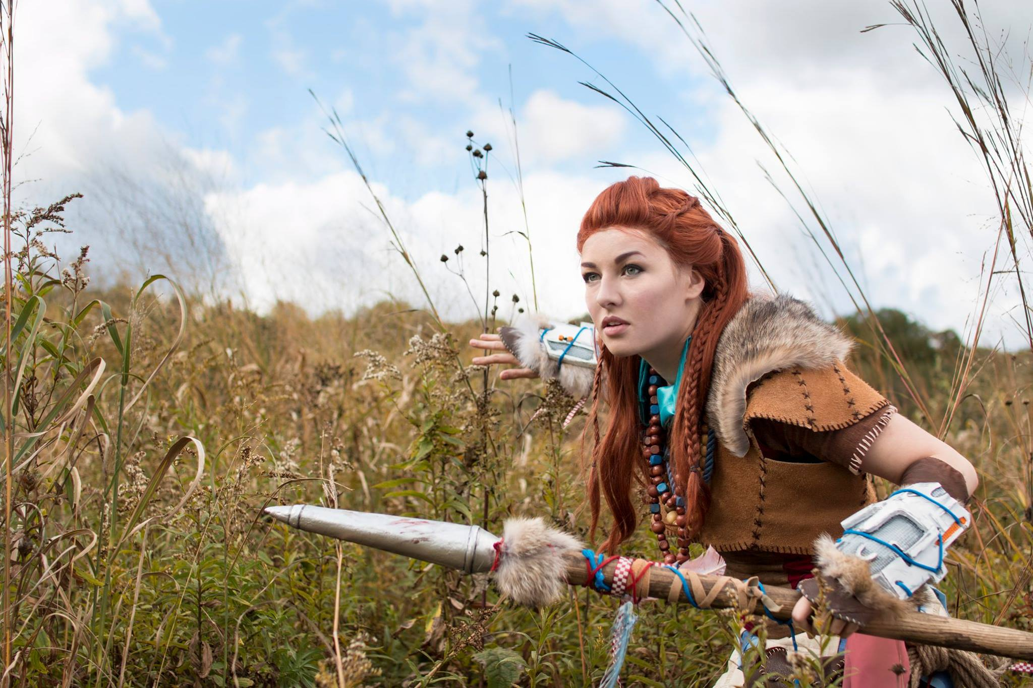 Aloy Horizon Zero Dawn Cosplay Wallpapers HD