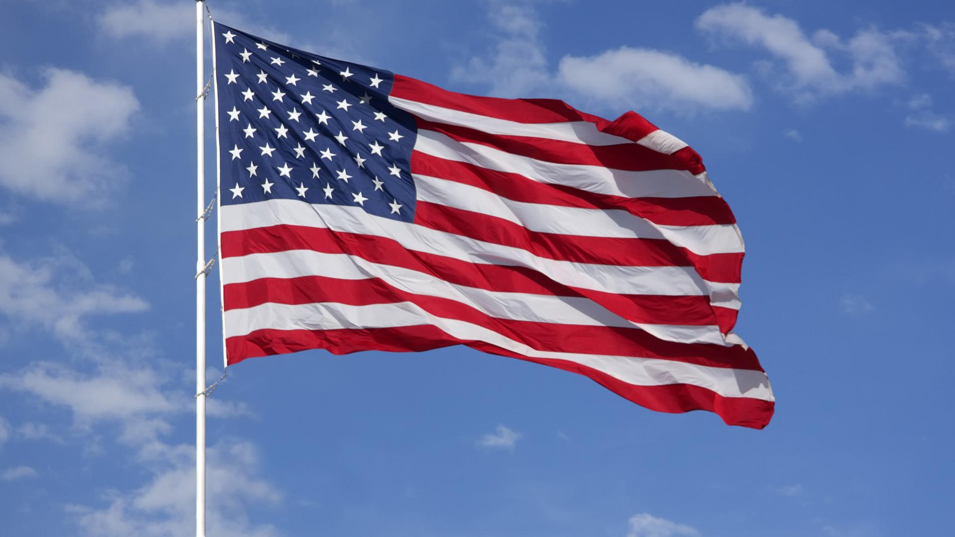 American Flag Deskto