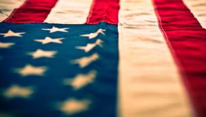 American Flag HD Background