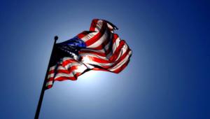 American Flag For Deskto