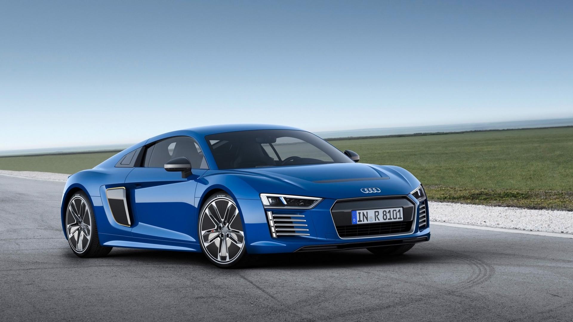 Audi R8 E Tron Widescreen