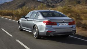BMW 540i 2017 HD Deskto