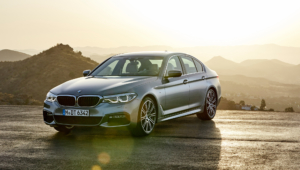 BMW 540i 2017 HD Wallpaper