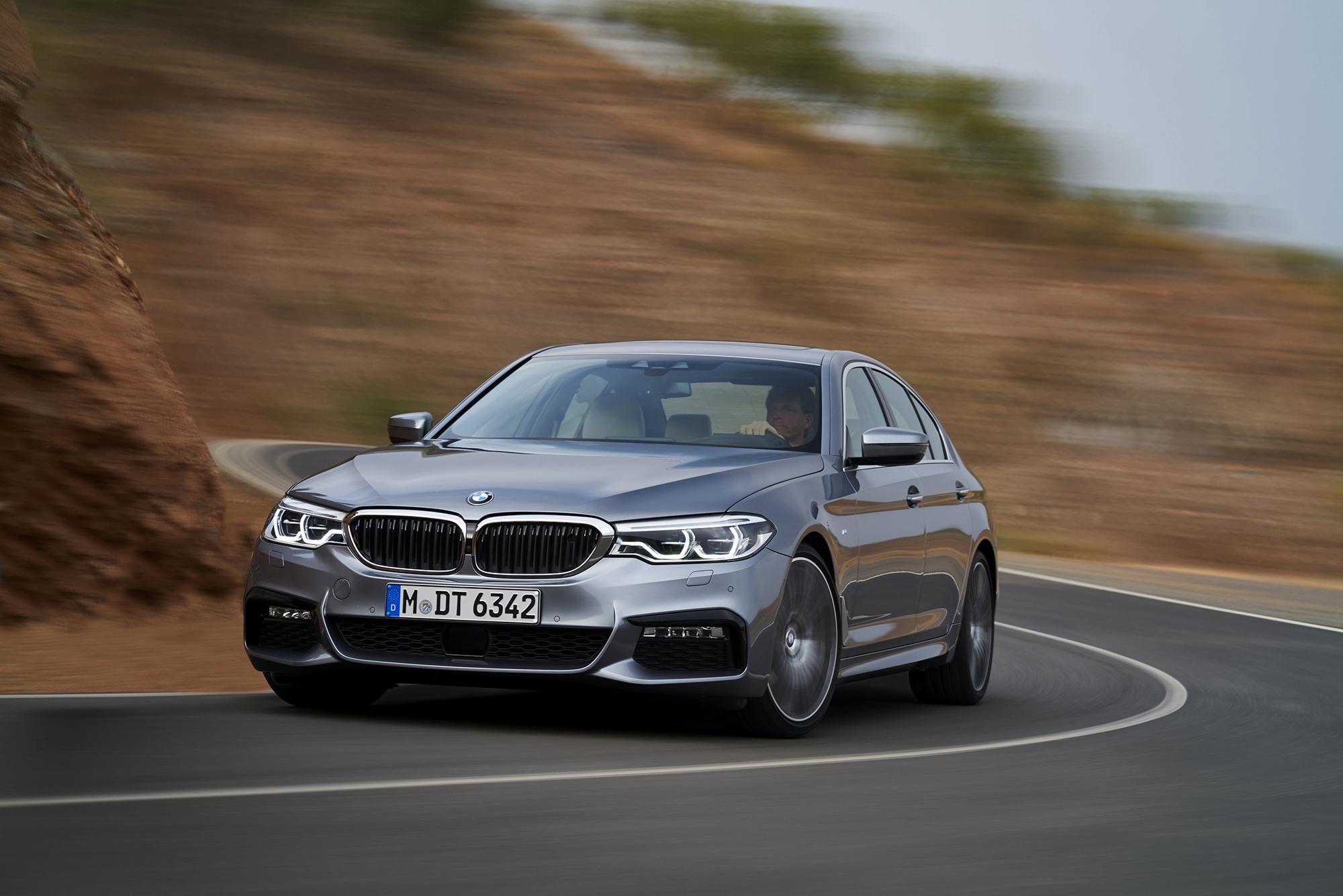 BMW 540i 2017