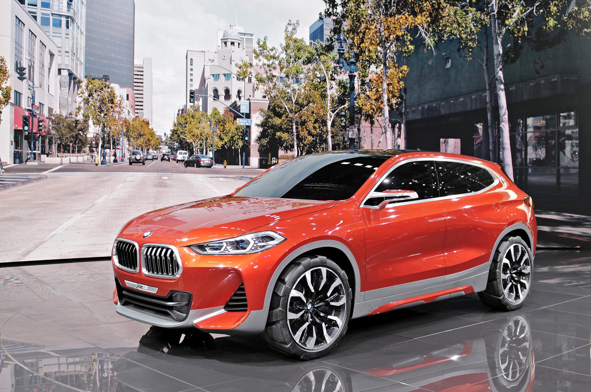 BMW X2 Deskto