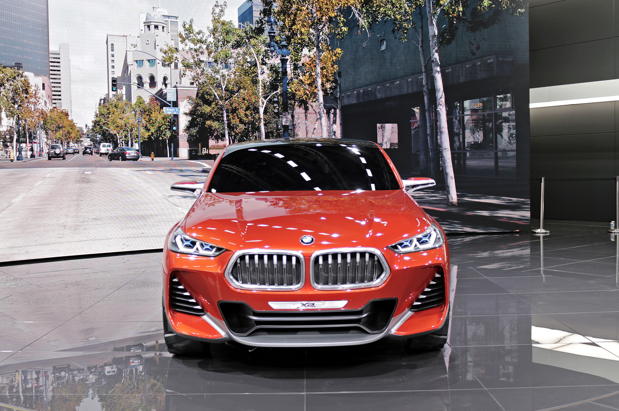 BMW X2 HD Background