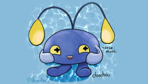 Chinchou Hd Background
