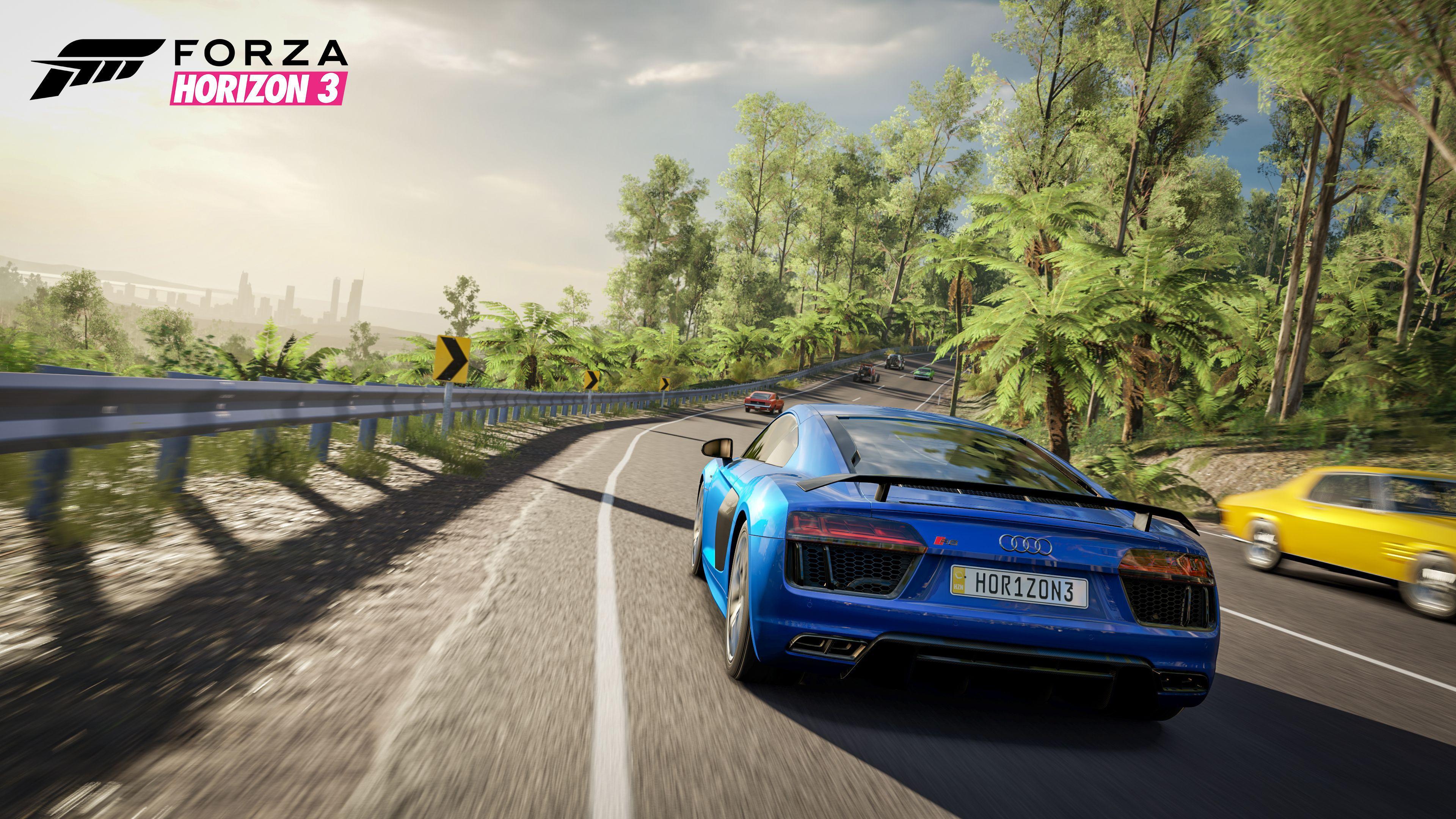 Forza Horizon 3 HD Background