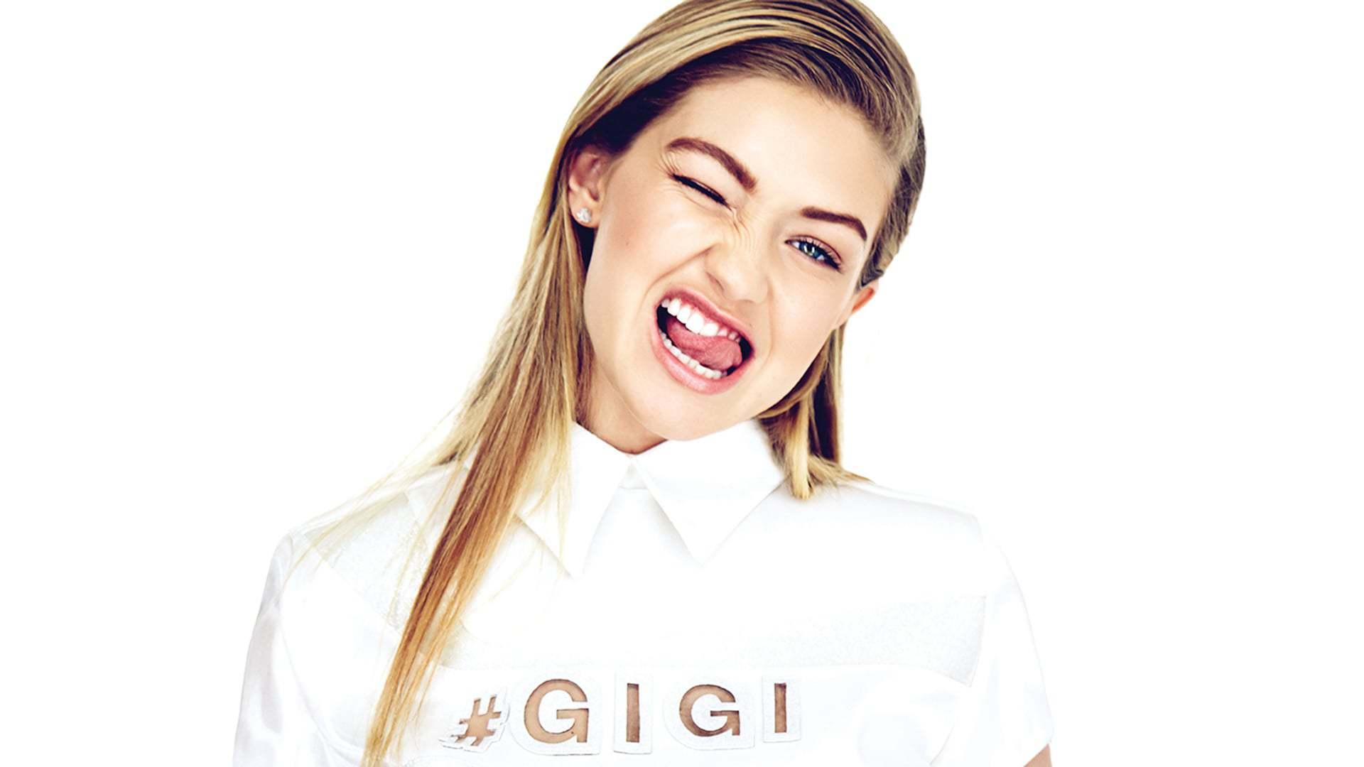 Gigi Hadid HD Background