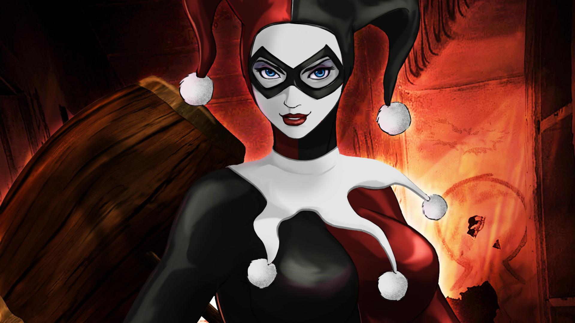 Harley Quinn Background