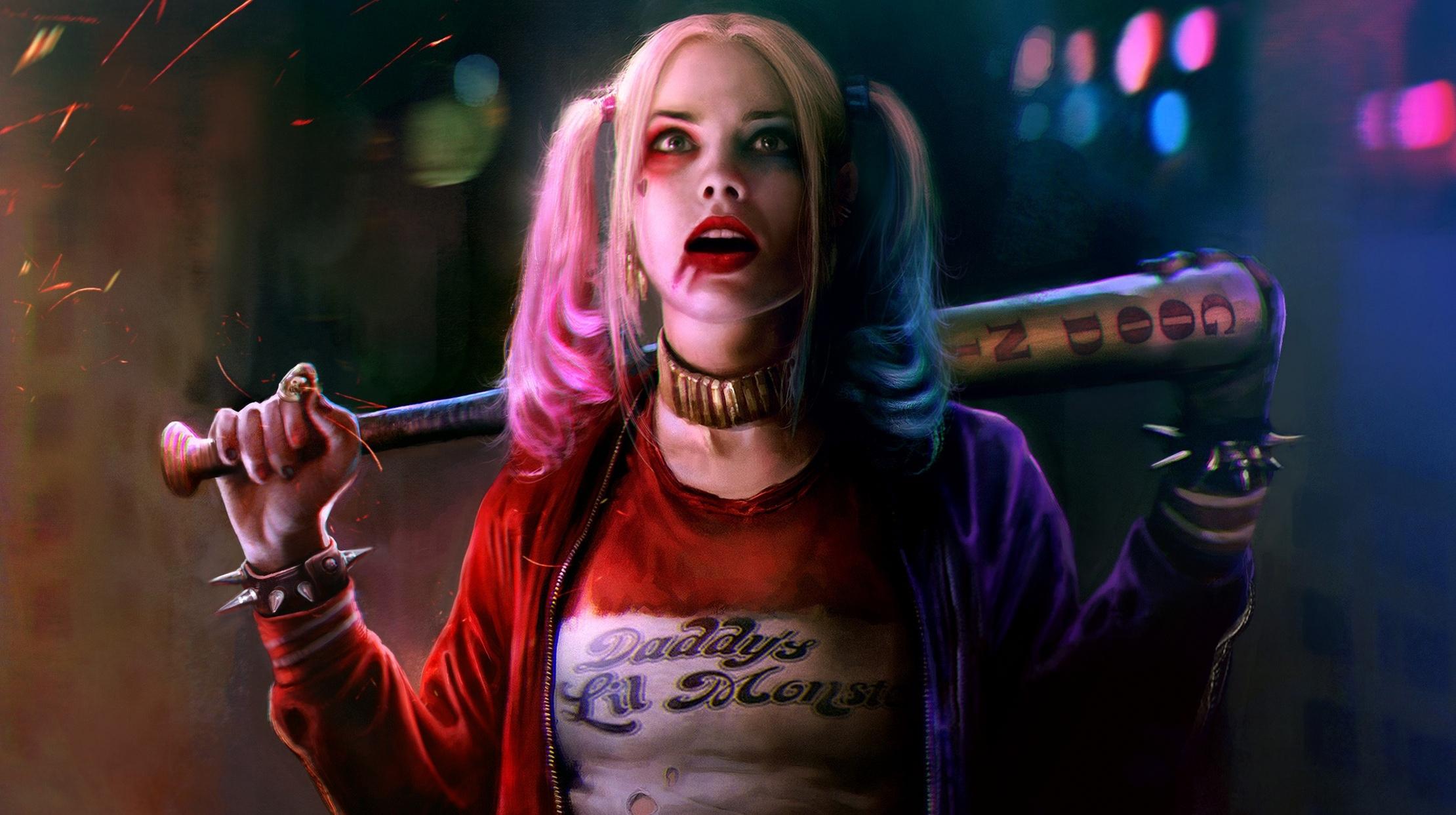 Harley Quinn Widescreen