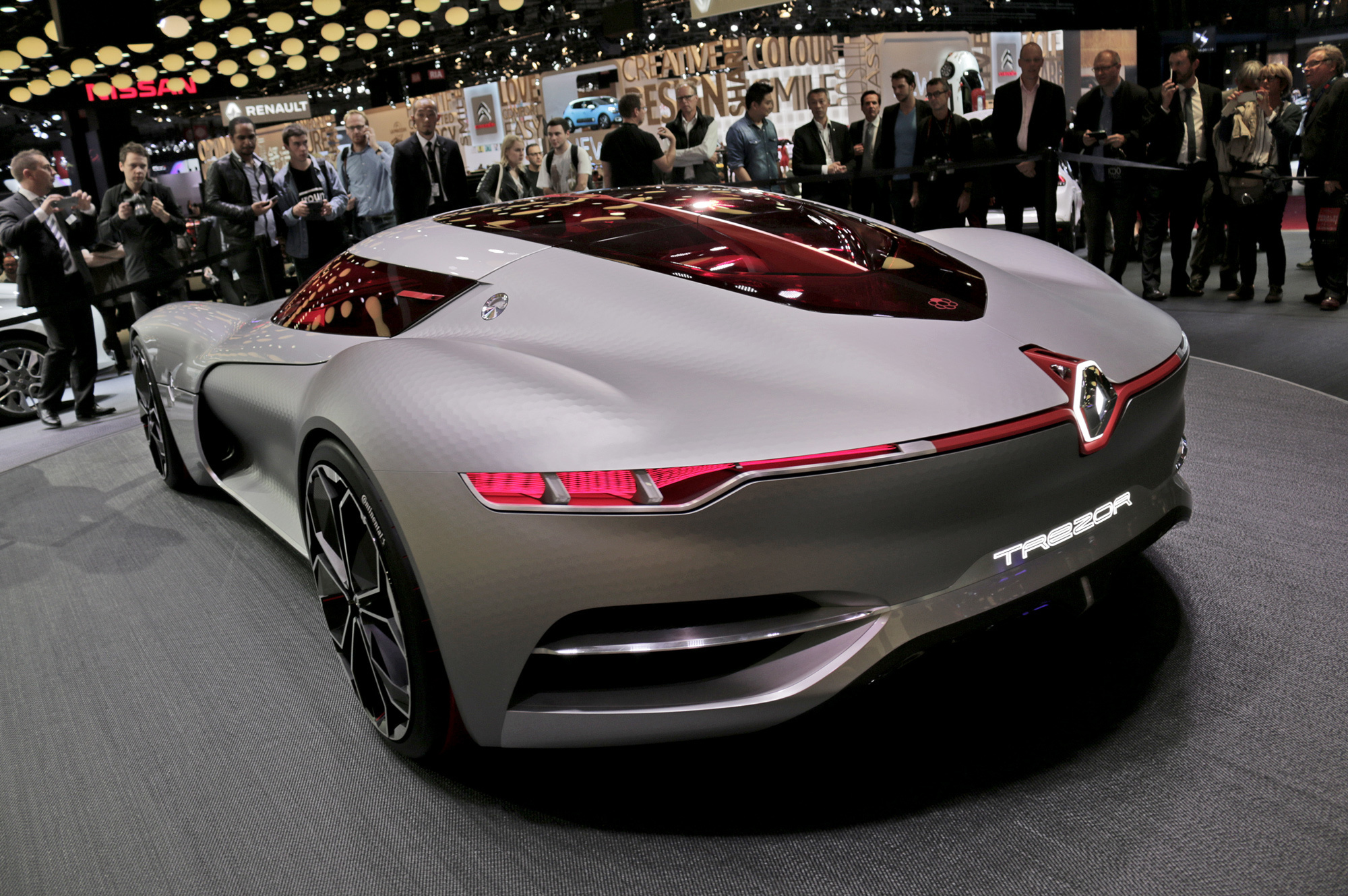 Images Of Renault Trezor Concept