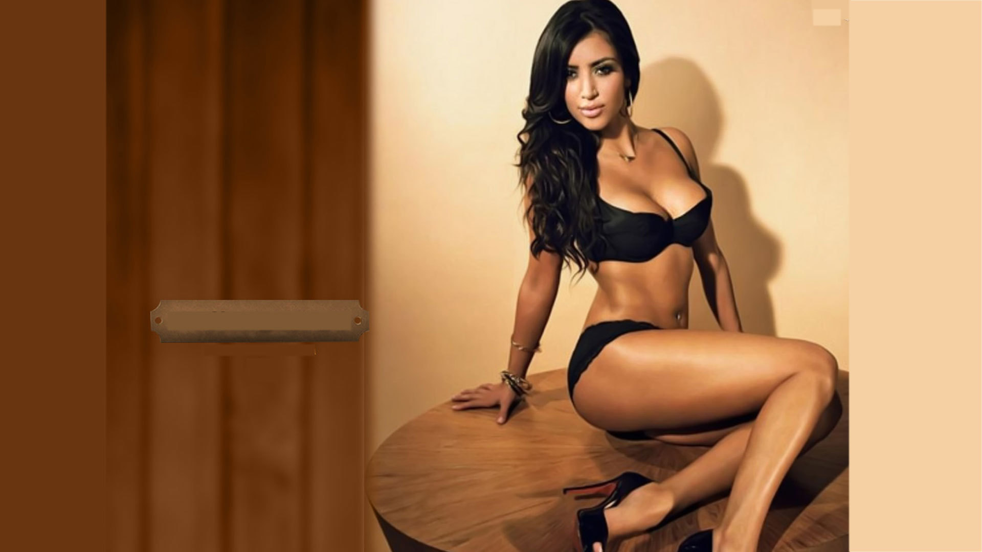Kim Kardashian Background