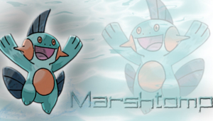 Marshtomp Background
