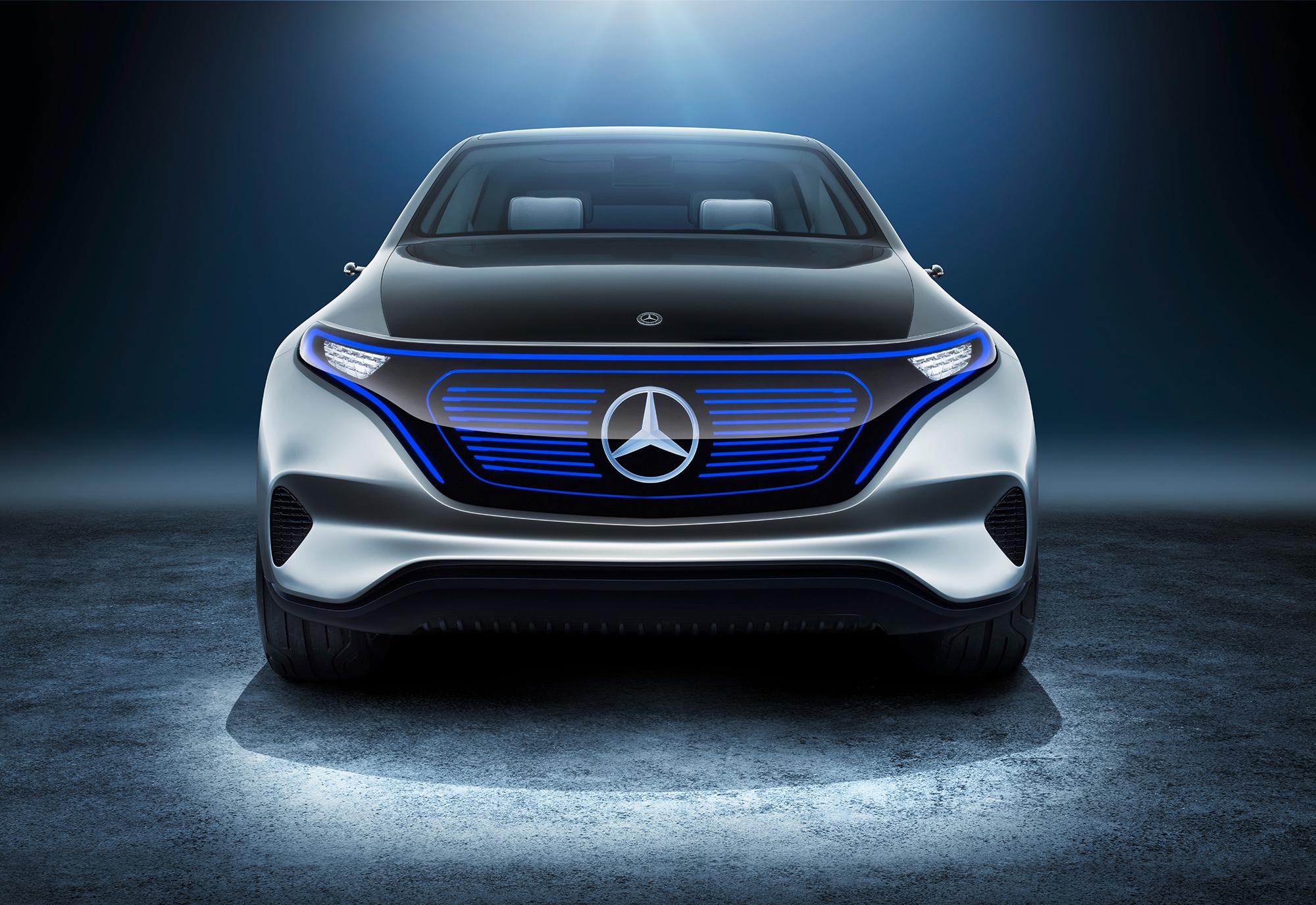 Mercedes Generation EQ Deskto