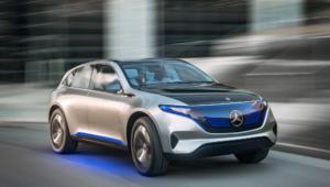 Mercedes Generation Eq Images
