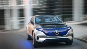 Mercedes Generation Eq Photos