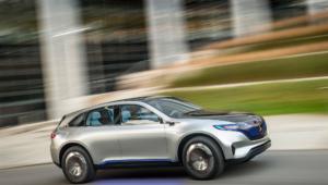 Mercedes Generation Eq Pictures