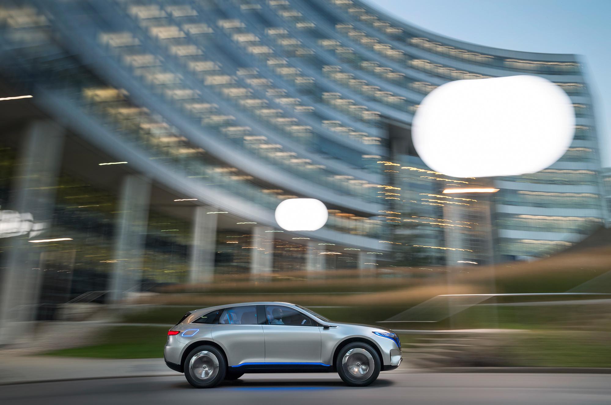 Mercedes Generation EQ Wallpapers HD