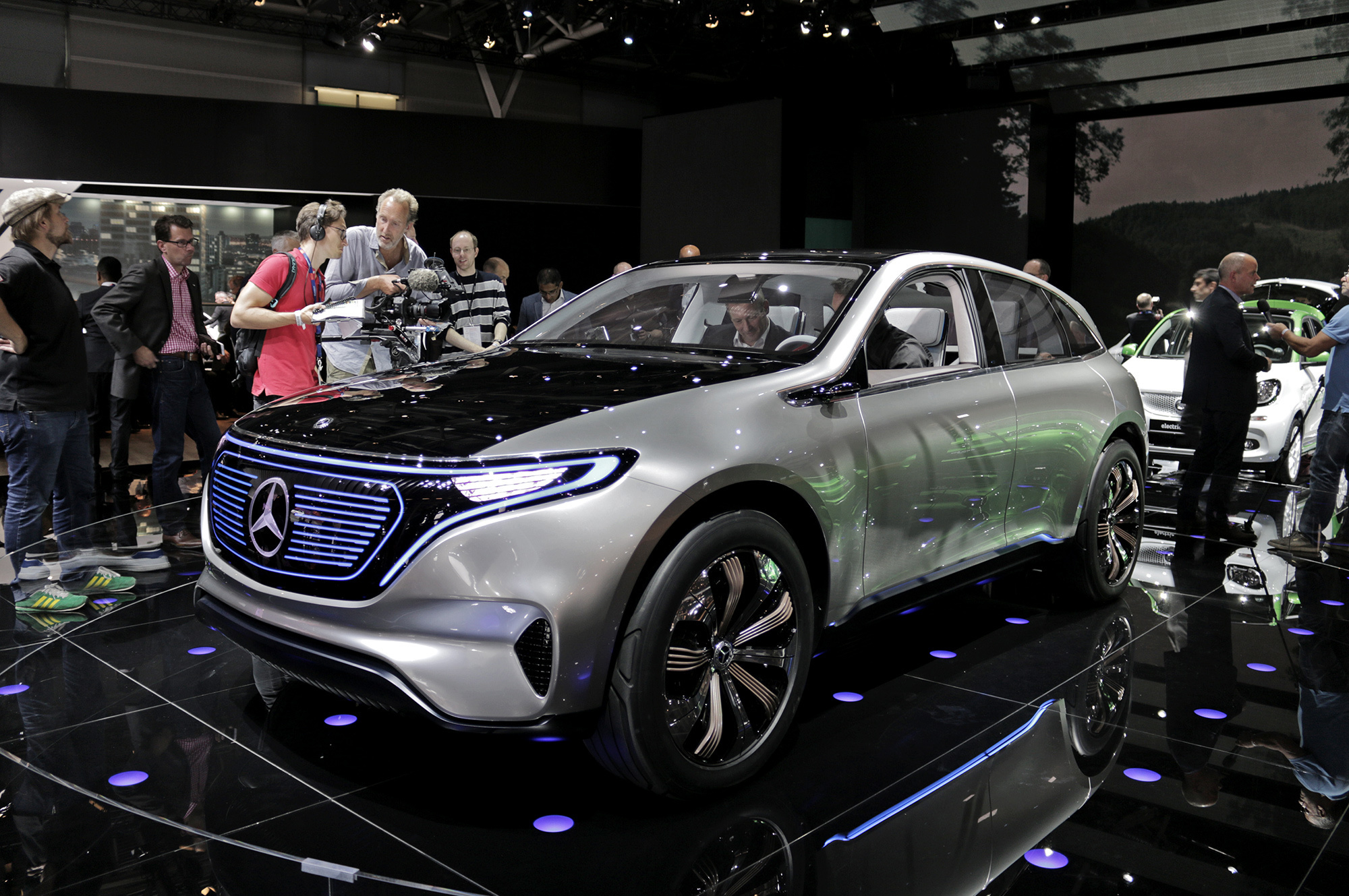 Mercedes Generation Eq Wallpapers And Backgrounds