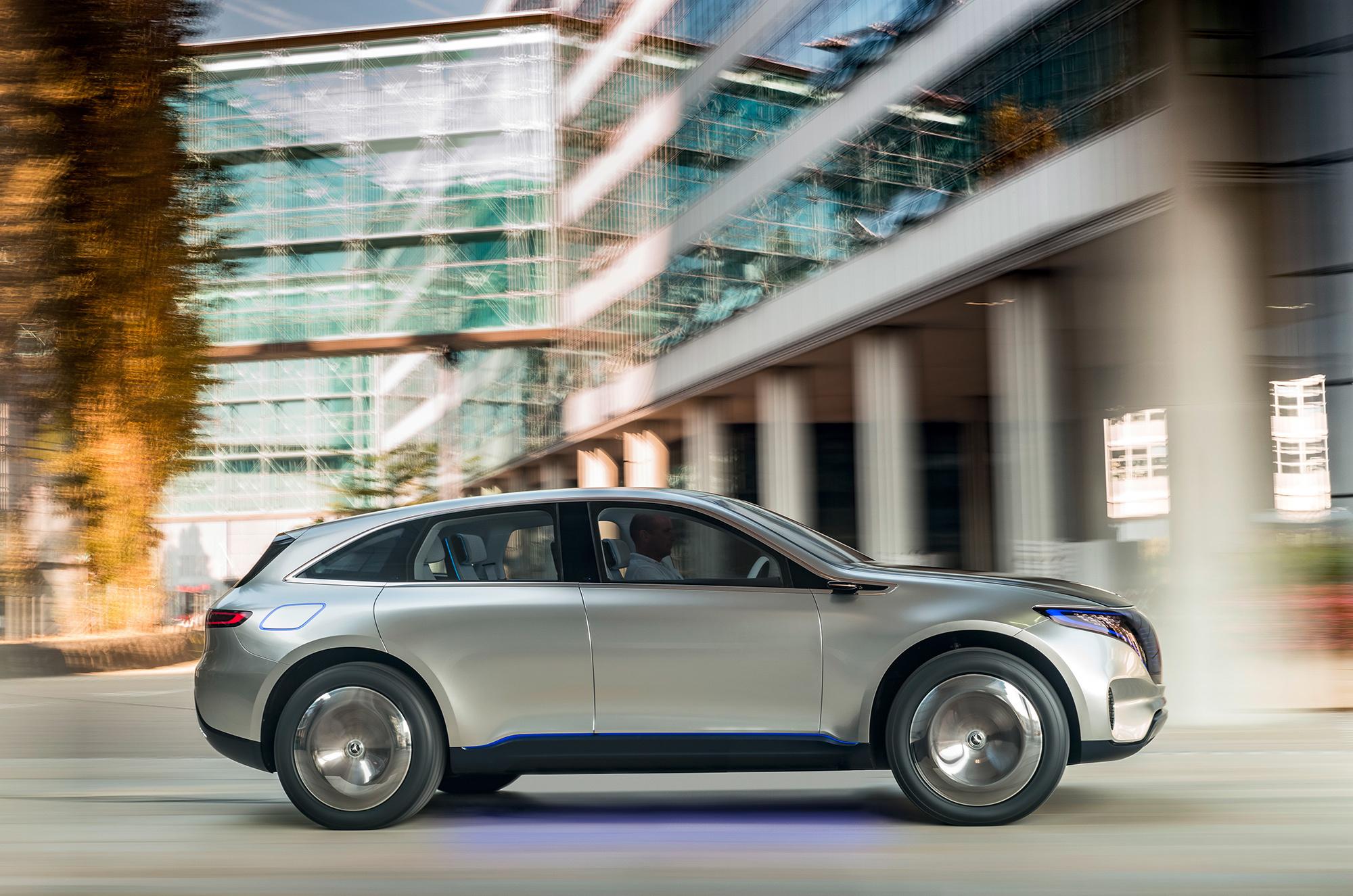 Mercedes Generation EQ Widescreen