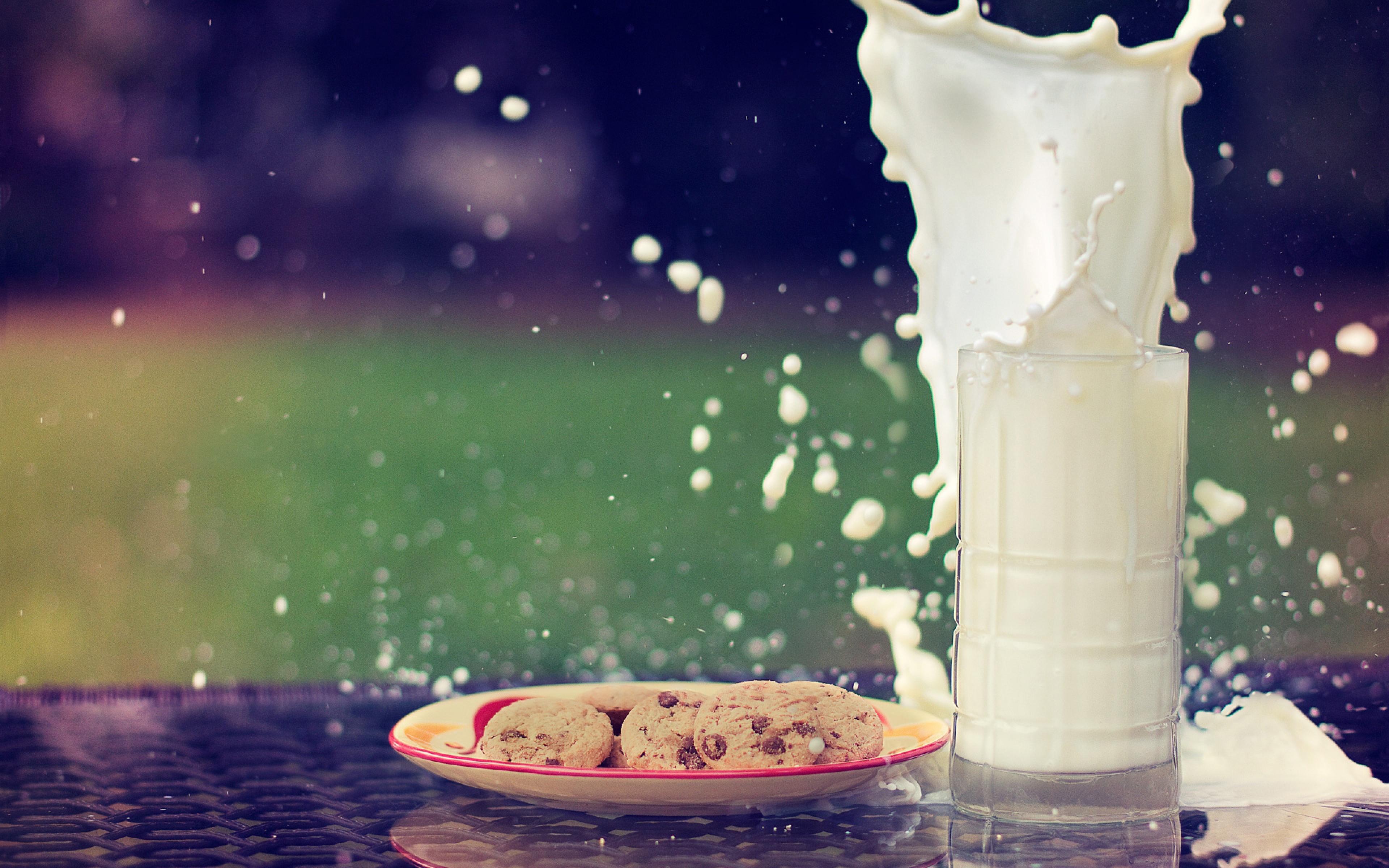 Milk Hd Background