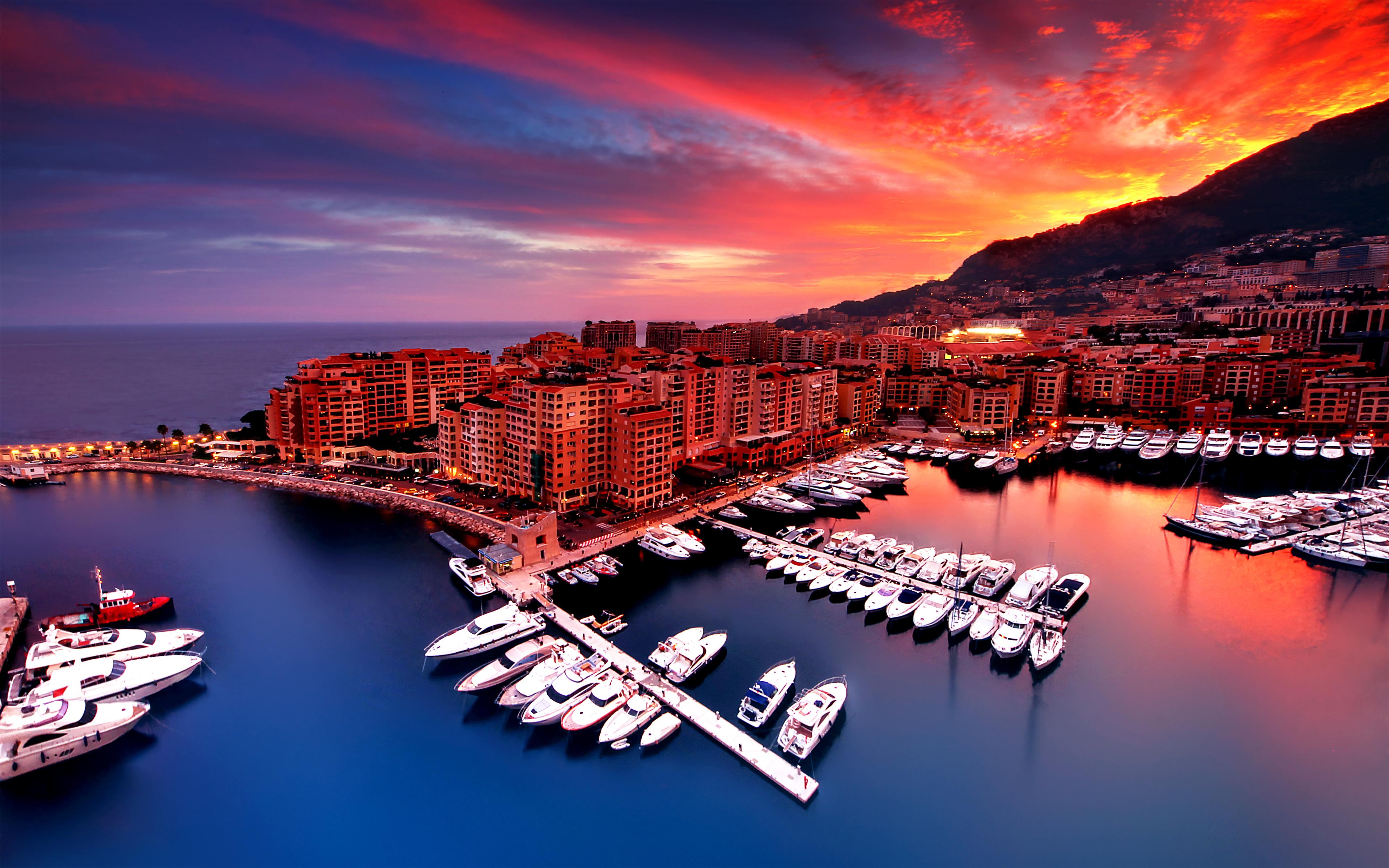 Monaco HD Wallpaper