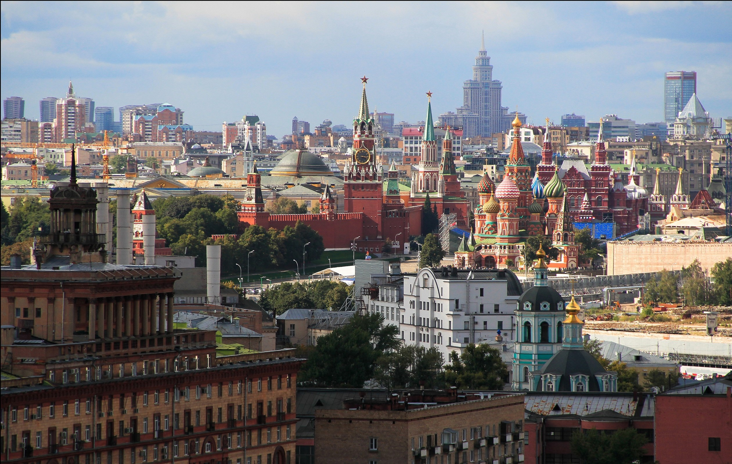 Moscow 4k