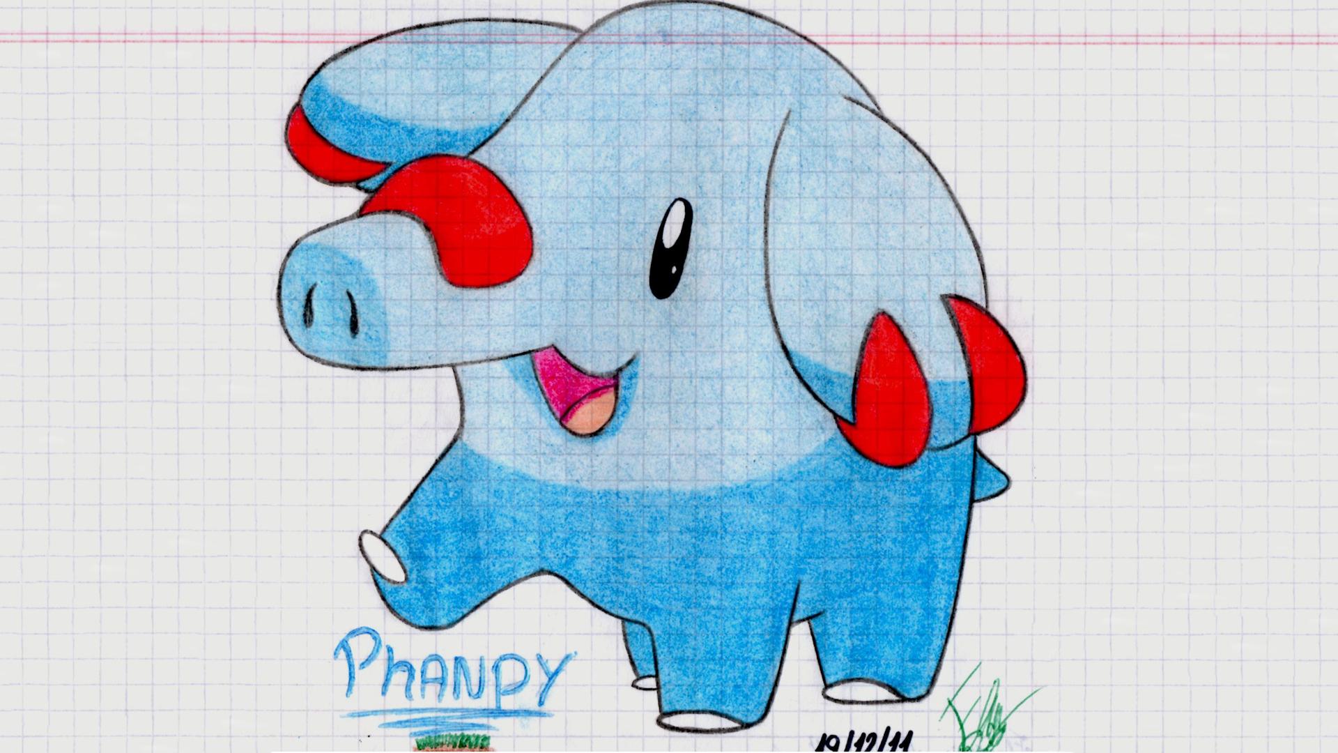 Phanpy HD Wallpaper