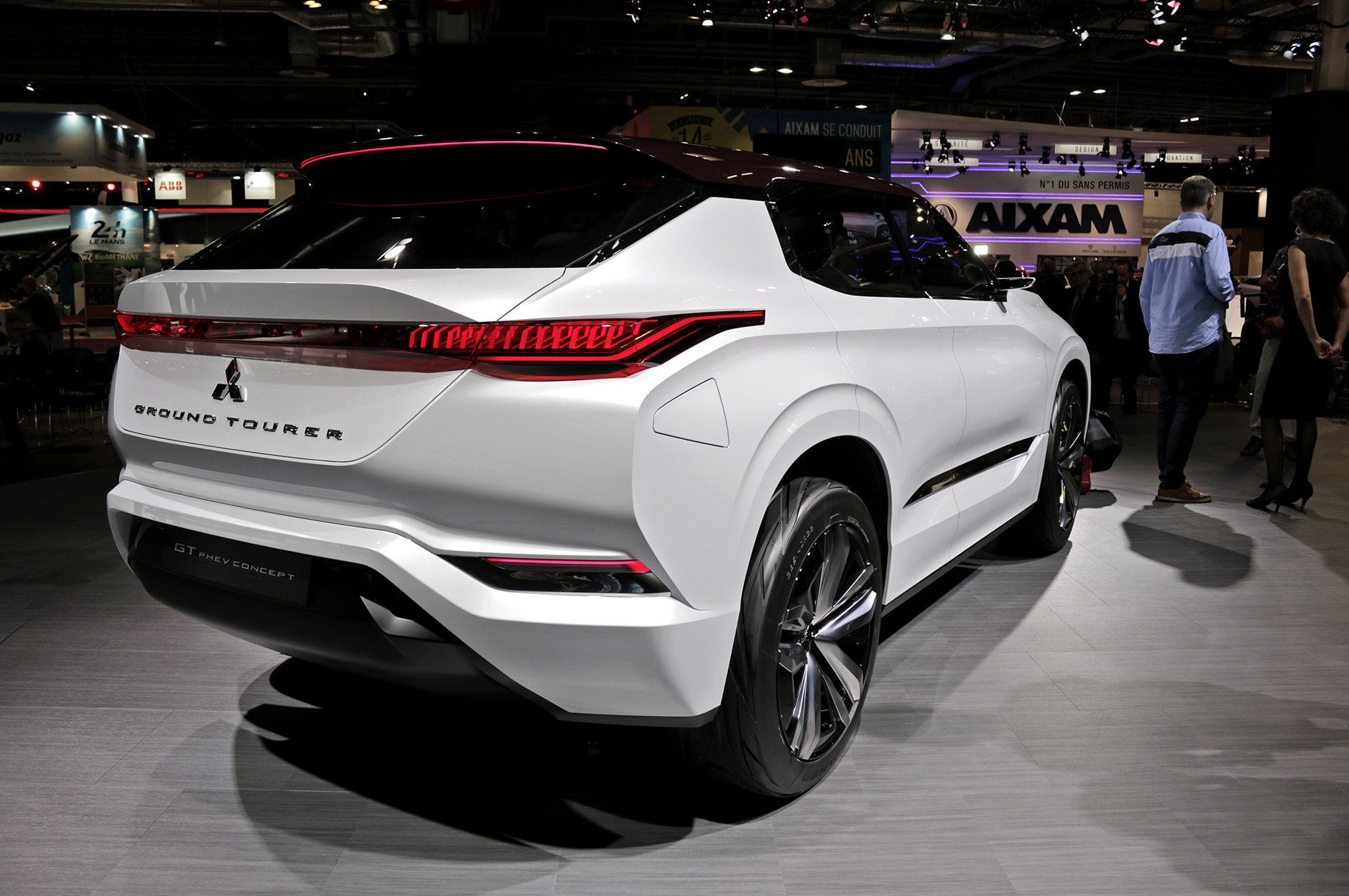 Pictures Of Mitsubishi GT PHEV