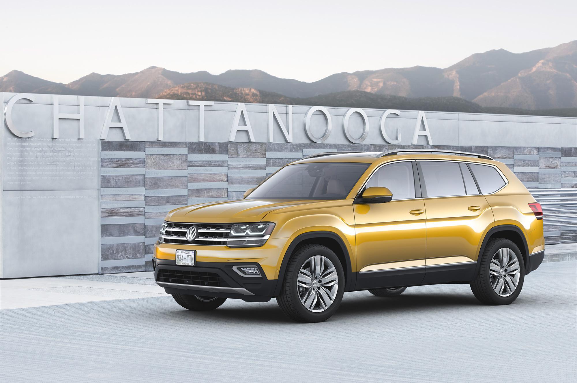 Pictures Of Volkswagen Atlas