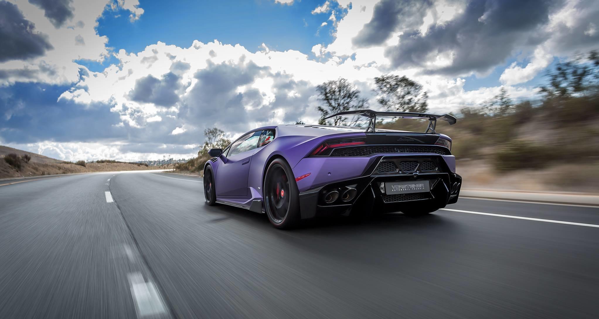 Purple Lamborghini 8514