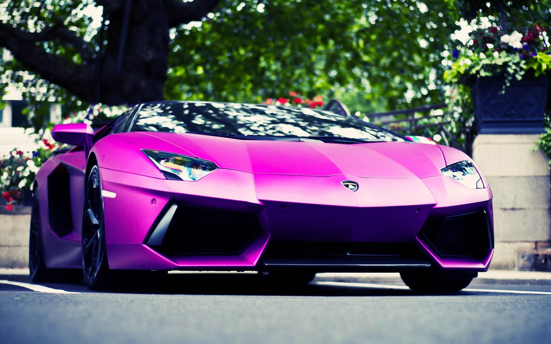 Purple Lamborghini Free Download Wallpaper For Mobile