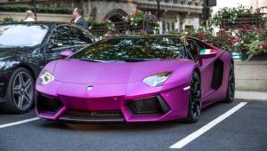 Purple Lamborghini Iphone Hd