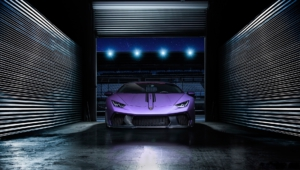 Purple Lamborghini Iphone Image