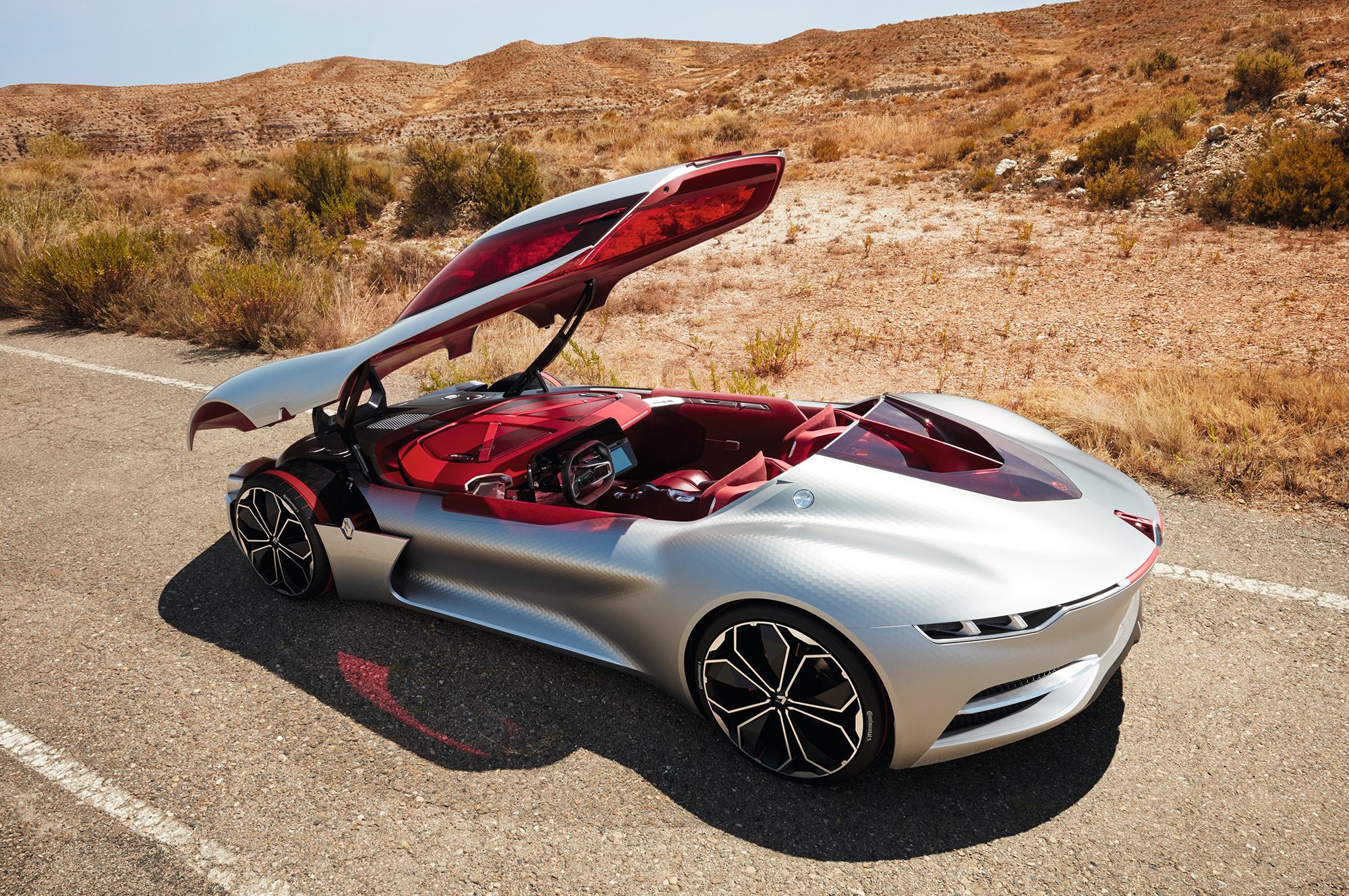 Renault Trezor Concept Photos