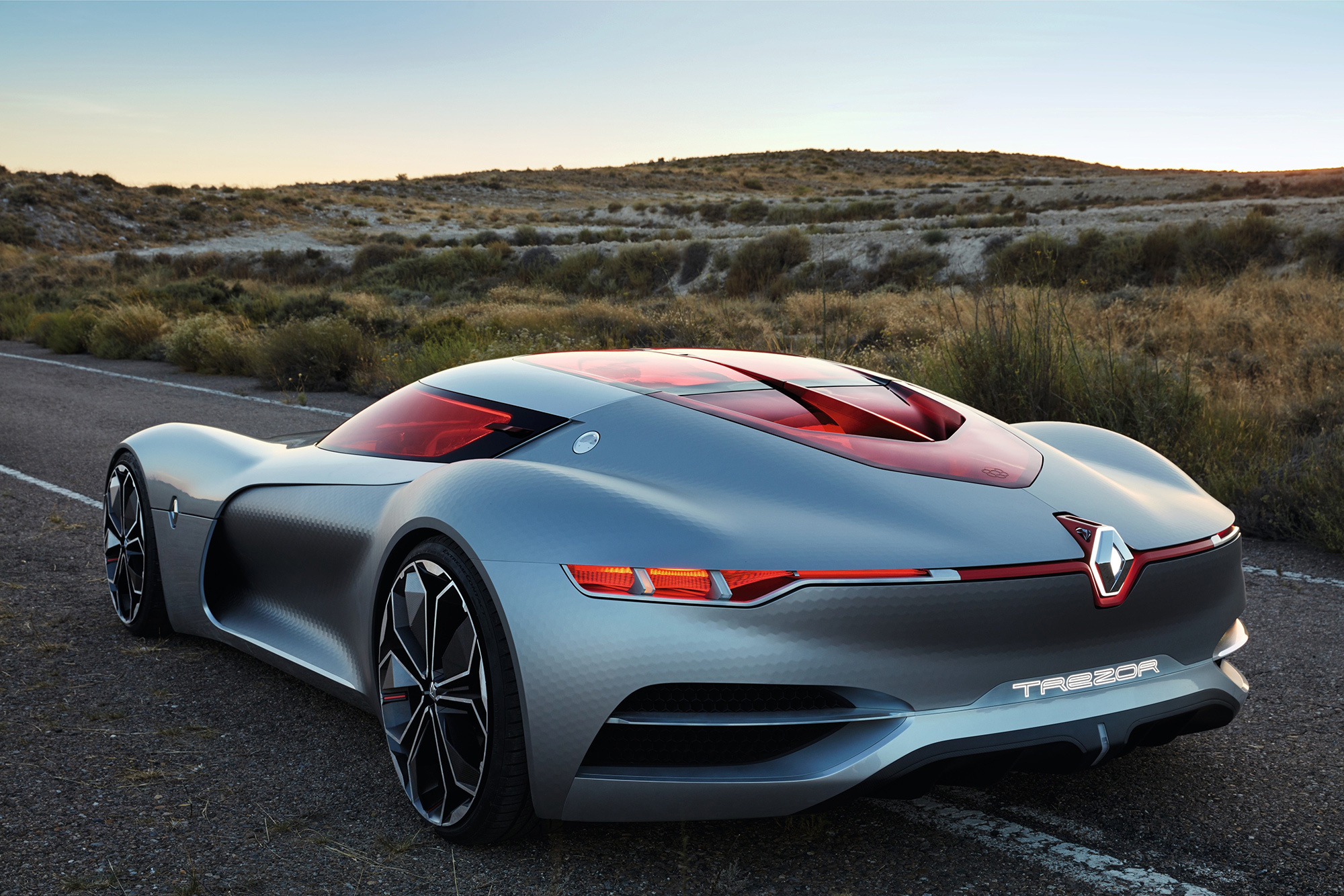 Renault Trezor Concept Wallpapers Images Photos Pictures